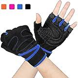 Arteesol Fitness Handschuhe, Training Sport Handschuhe für Grip Gewichtheben Training Fitness Bodybuilding Training und Outdoor Sports mit Adjustable Handgelenkstütze Palm Protection