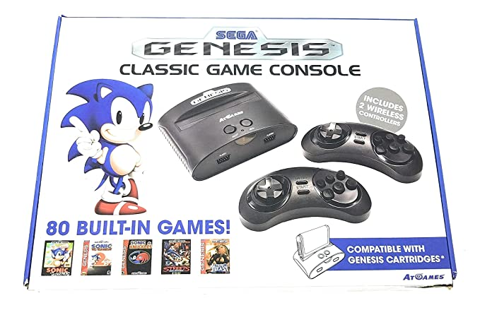 Console Retro Gaming Sega Megadrive Genesis Amazon Es Videojuegos