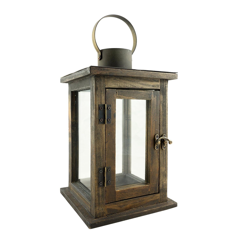 We Love Lanterns - Rustic Brown Lantern Christmas ...