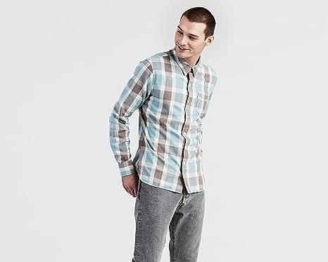 Levis - Camisa Levis Sunset One Pocket: Amazon.es: Ropa y ...