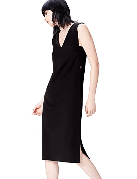 FIND Abito Cut Out Side Donna  Amazon.it  Abbigliamento 178f113affb