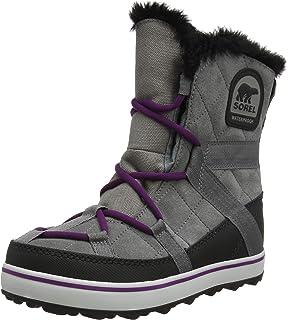 a346aa80a43 SOREL Women s Glacy Explorer Shortie Snow Boot