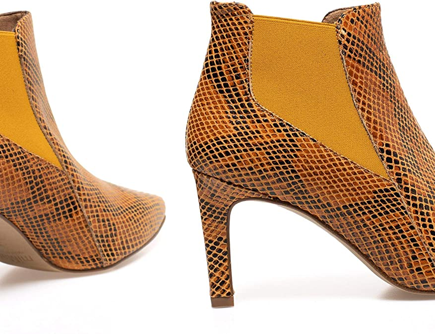 Zapatos miMaO. Zapatos Piel Mujer Hechos EN ESPAÑA. Botines Tacón ...
