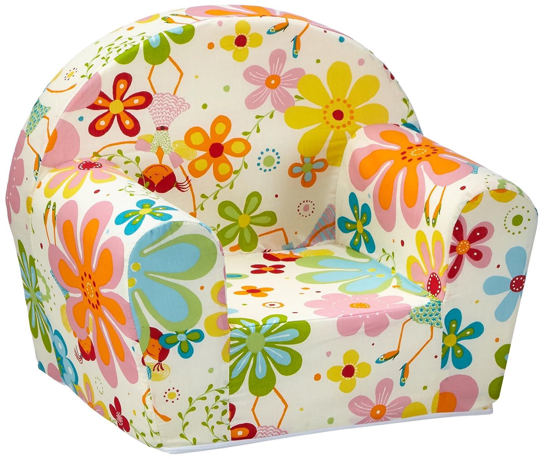 color blanco Sill/ón para ni/ños dise/ño floral sun garden 10093234 Ludger
