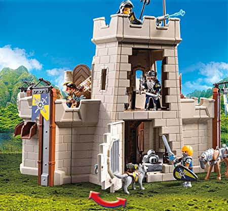 PLAYMOBIL Novelmore Fortaleza, Multicolor (70222): Amazon.es: Juguetes y juegos