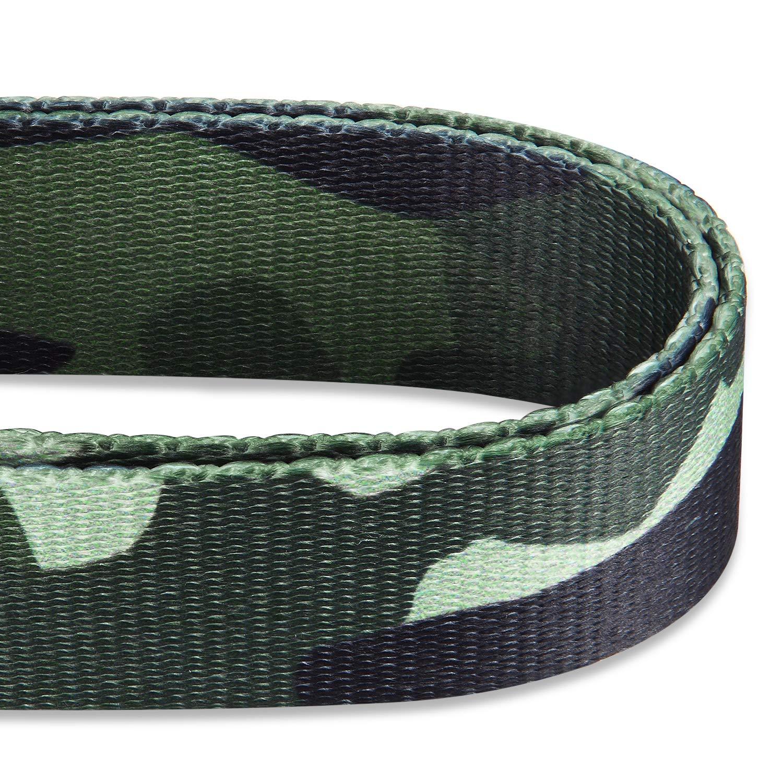 Hyhug Premium actualizado Cuello de martingala Anti-Escape Mejorado de poli/éster de Alta Resistencia para Perros peque/ños medianos y Grandes Uso Diario para Caminar. Grande L, Camuflaje forestall