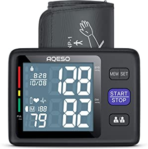 Blood Pressure Monitor Upper Arm with Large Cuff 9