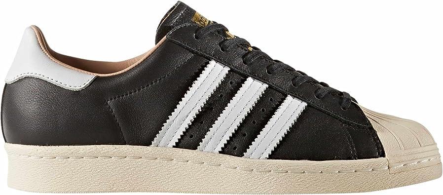 Adidas Superstar 80s W Zapatillas Negras para Mujer Cuero ...