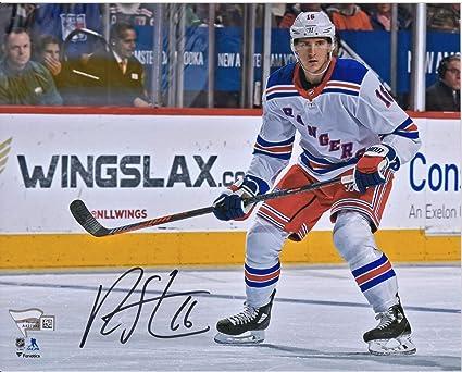 los angeles dafc0 9bde2 Ryan Strome New York Rangers Autographed 8