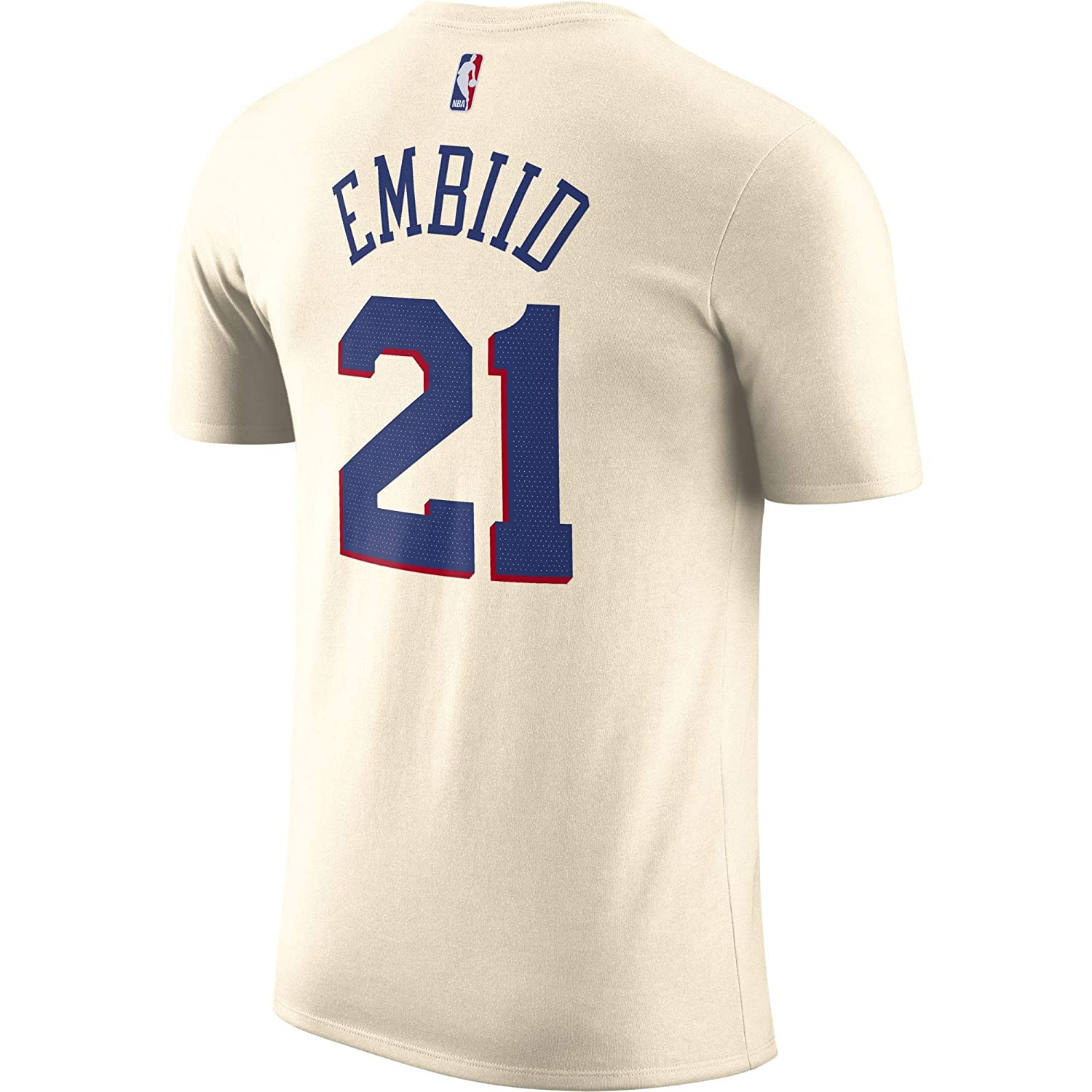Nike NBA Philadelphia 76ers Joel Embiid 21 2017 2018 City Edition Jersey Official Name & Number, Camiseta de Niño: Amazon.es: Ropa y accesorios
