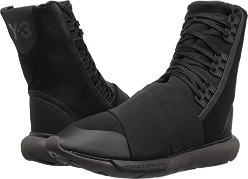 e3f59bdb3e3 Adidas Y-3 by Yohji Yamamoto Men s Y-3 Qasa Boot Core Black Core  Black Utility Black Boot  Amazon.ca  Shoes   Handbags