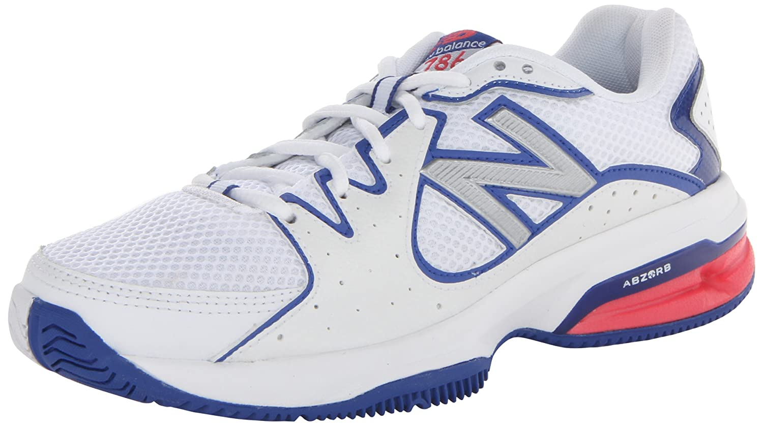 new balance tennis shoes womens. amazon.com | new balance women\u0027s wc786 cushion tennis shoe \u0026 racquet sports shoes womens h