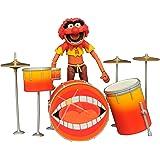 Diamond Select Muppets–seleccione serie 2Animal y Kit de tambor de figura de acción