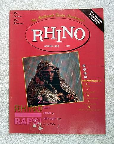 Afrika Bambaataa - Rhino Catalog / Magazine (Rhino Records