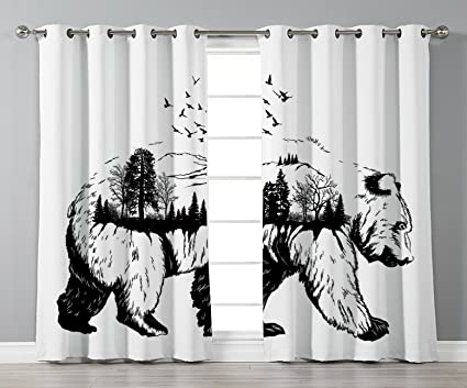 Amazon Com Thermal Insulated Blackout Grommet Window Curtains Cabin