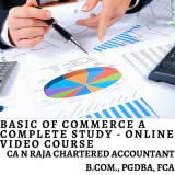 Basics of Commerce A Complete Study [Online Code]