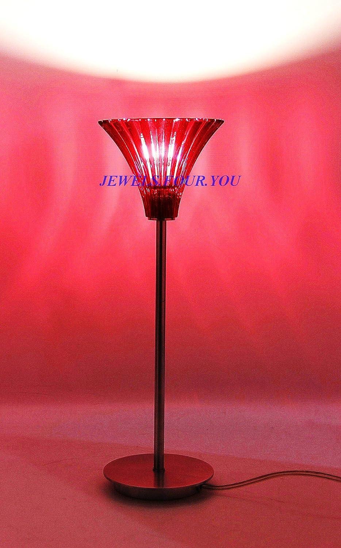 Godinger Villa Marca Votive Lamp-red