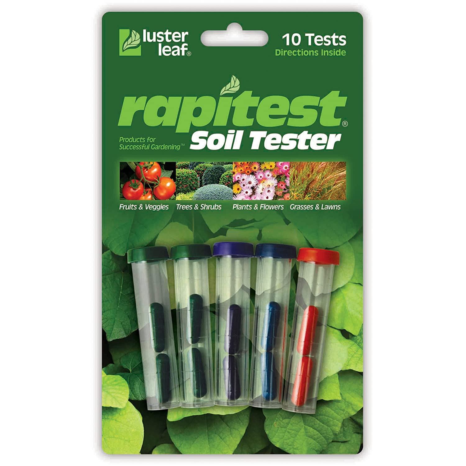 The Luster Leaf Rapitest Soil Tester Is Inexpensive And Easy To Use. If You  Have A Small Garden And Are Primarily Testing For PH Level, And For  Nitrogen, ...