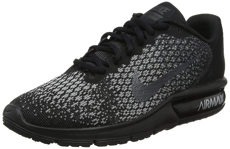 TALLA 42.5 EU. Nike Wmns Air MAX Sequent 2 - Zapatillas de Deporte Mujer