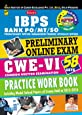 Kiran's Bank Po/Mt/So Preliminary Online Exam CWE - VI Practice Work Book (With Cd)