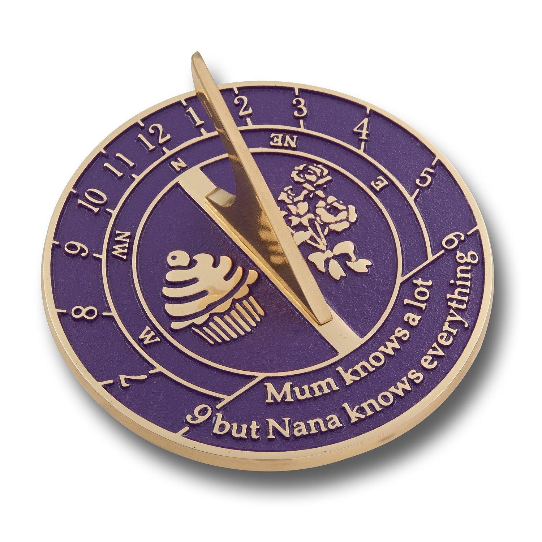 Unique Sundial Gift Idea For Nana