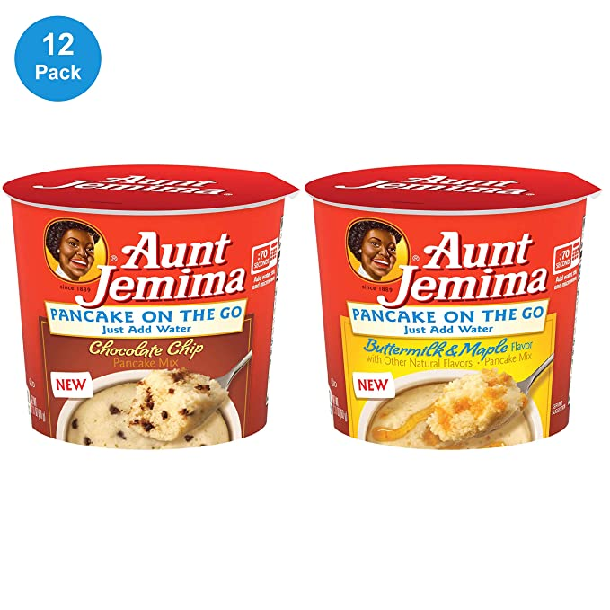 Aunt Jemima jarabe original y completo mezcla de mantequilla ...