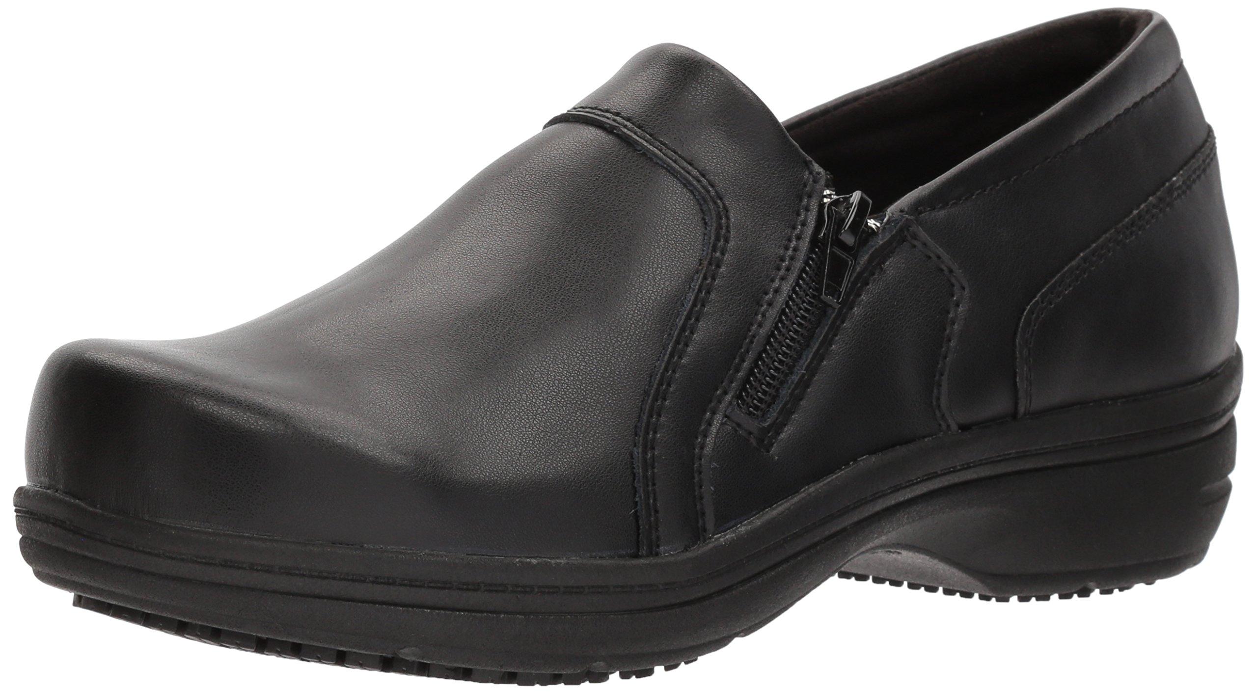 Easy Works Women's Bentley Health Care Professional Shoe, Black, 12 W US