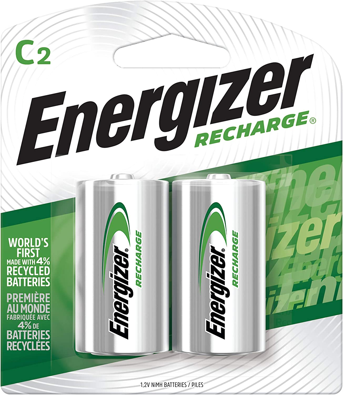 Amazon.com: Energizer - Pilas recargables (NiMH, 2500 mAh, 2 ...