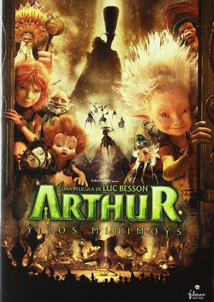 Amazon Com Arthur Y Los Minimoys Import Movie European Format Zone 2 2011 Luc Besson Movies Tv