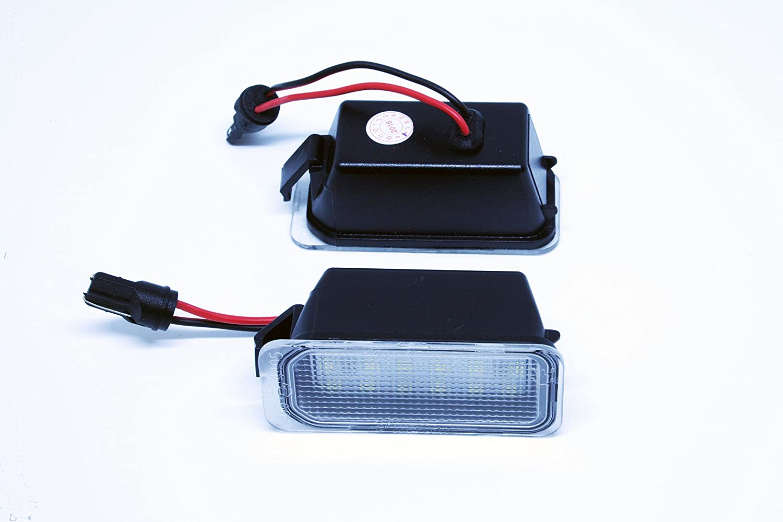 VINSTAR LEDPremium 2X Luces para MATRICULA LED Mondeo MK4 IV 4 CANBUS