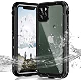 Janazan iPhone 11 Pro Waterproof Case, IP68 Full Sealed Underwater Protective Cover, Waterproof Shockproof Snowproof…