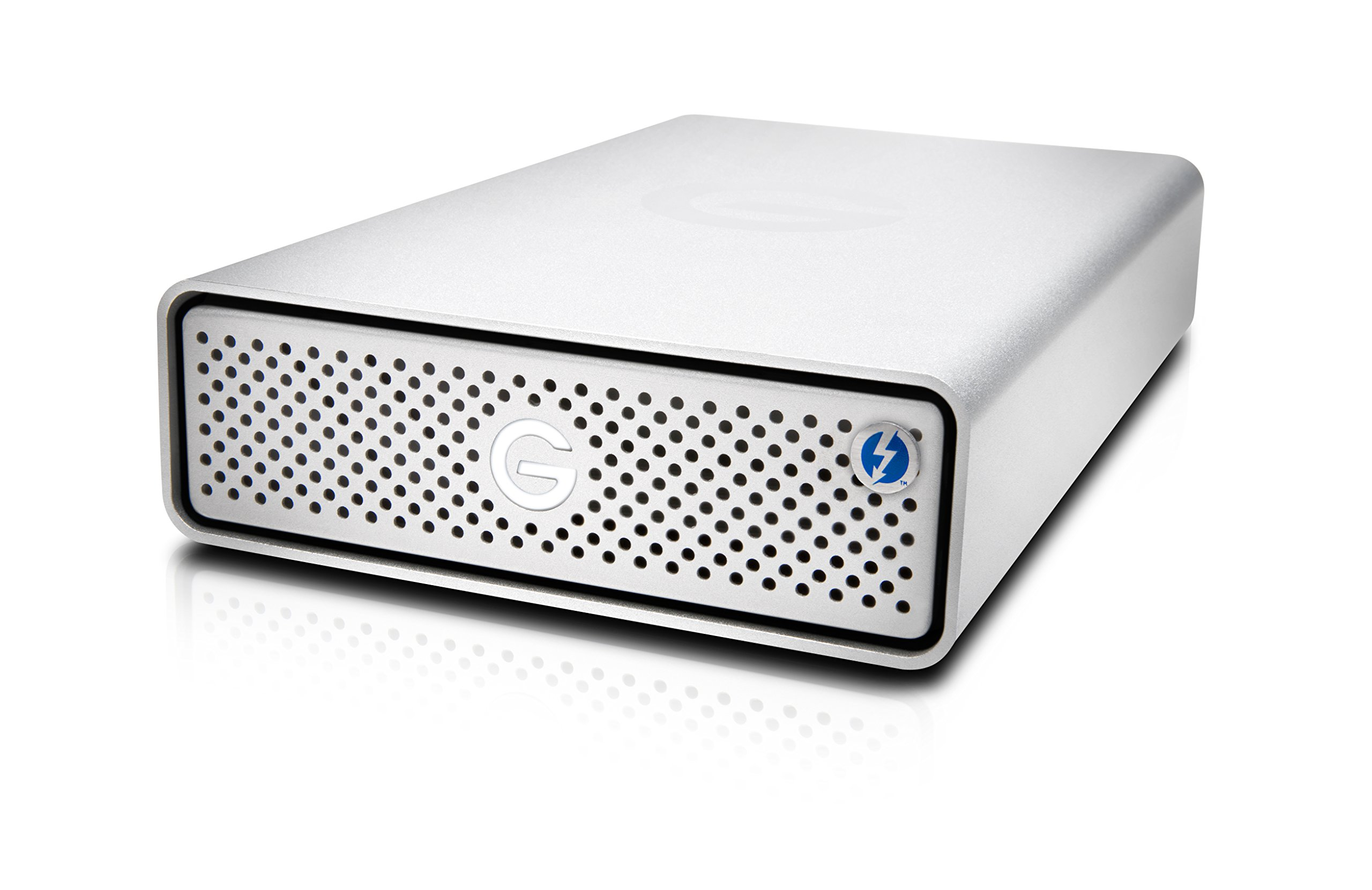 G-Technology 10TB G-DRIVE with Thunderbolt 3 and USB-C Desktop External Hard Drive, Silver - 0G05378 by G-Technology