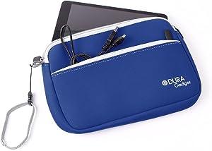 DURAGADGET Blue Soft Neprene Cover - Compatible with Acer Iconia W3 | Iconia Tab A1-810 | Iconia Tab A210 | Iconia Tab A211 & Iconia Tab A200