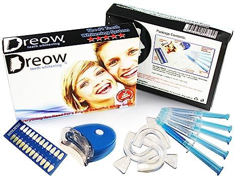 ... De Dientes Con Blanqueamiento Dental Laser LED - Sistema Blanqueador Dental Profesional - Luce Una Sonrisa Mas Blanca: Health & Personal Care