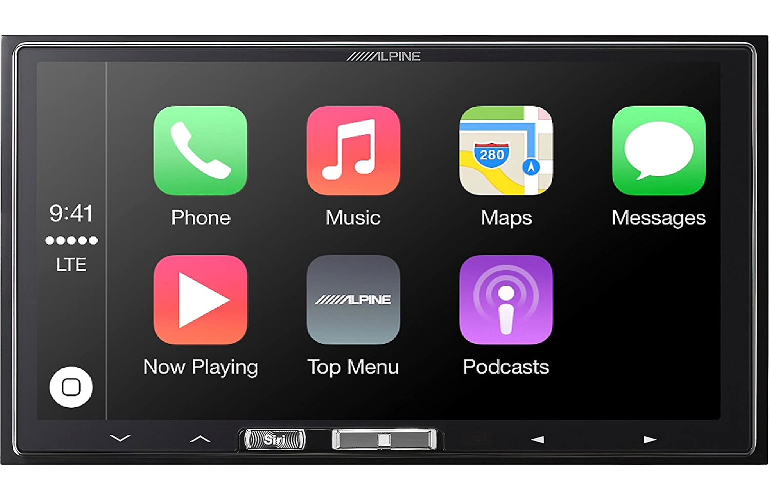 Alpine ILX-107 touchscreen car stereo review