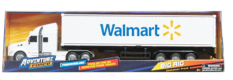 Amazon Big Rig FreeWheeling Walmart Hauler Container Truck