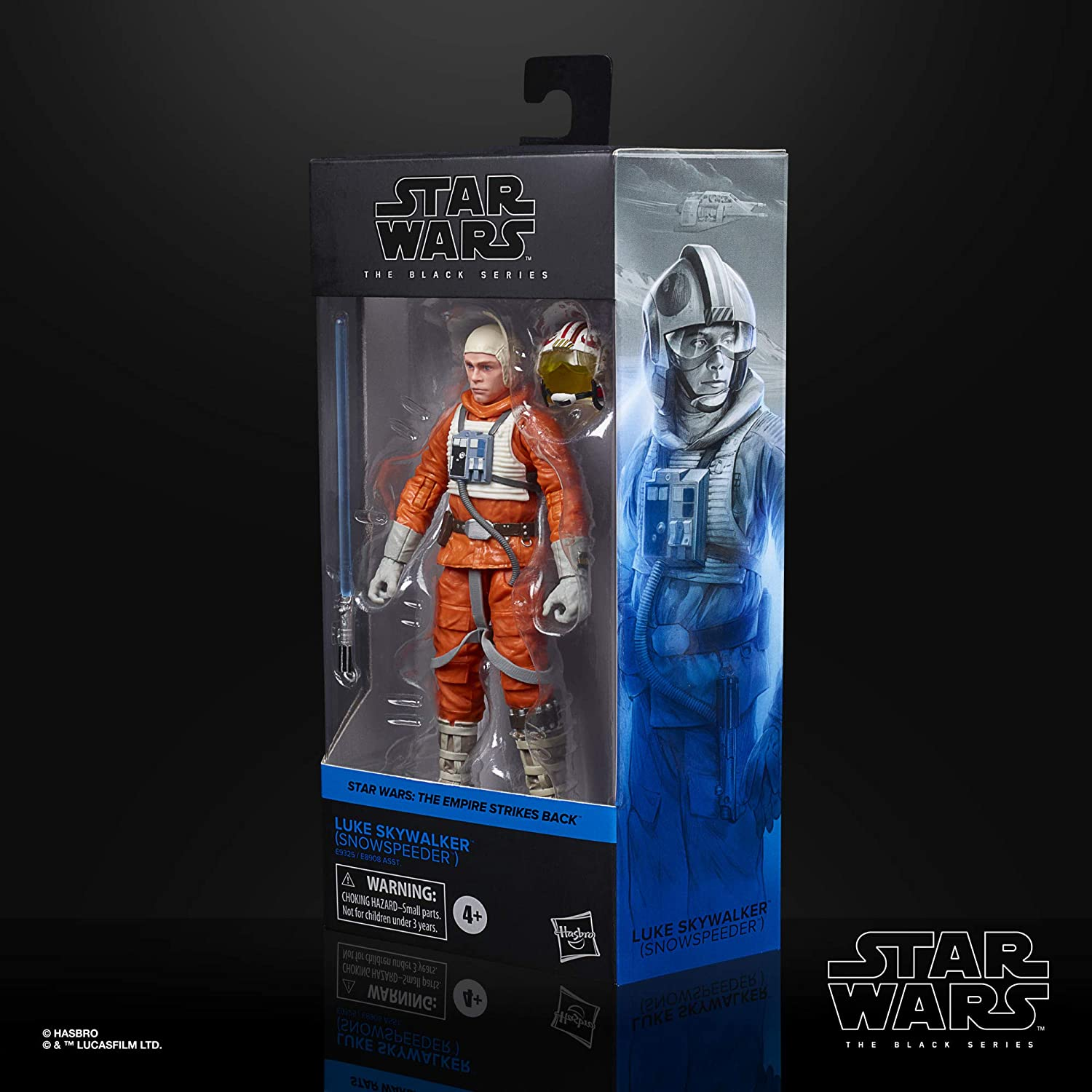 Snowspeeder Star Wars The Black Series Luke Skywalker Toy 6-Inch-Scale The Empire Strikes Back Collectible Action Figure