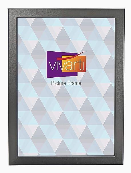 Thin Matt Black Picture Frame A4 Certificate Size 21 X 297cm