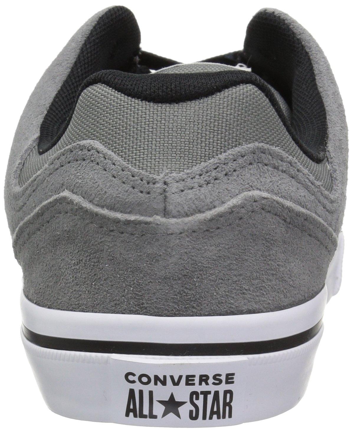 Converse EL Distrito Canvas Low Top Sneaker, Mason/White/Black, 12 M US by Converse (Image #2)