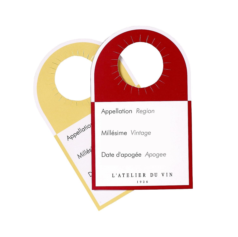 L'Atelier du Vin 081099-8 - 40 Etiquettes-Témoins L' Atelier du Vin