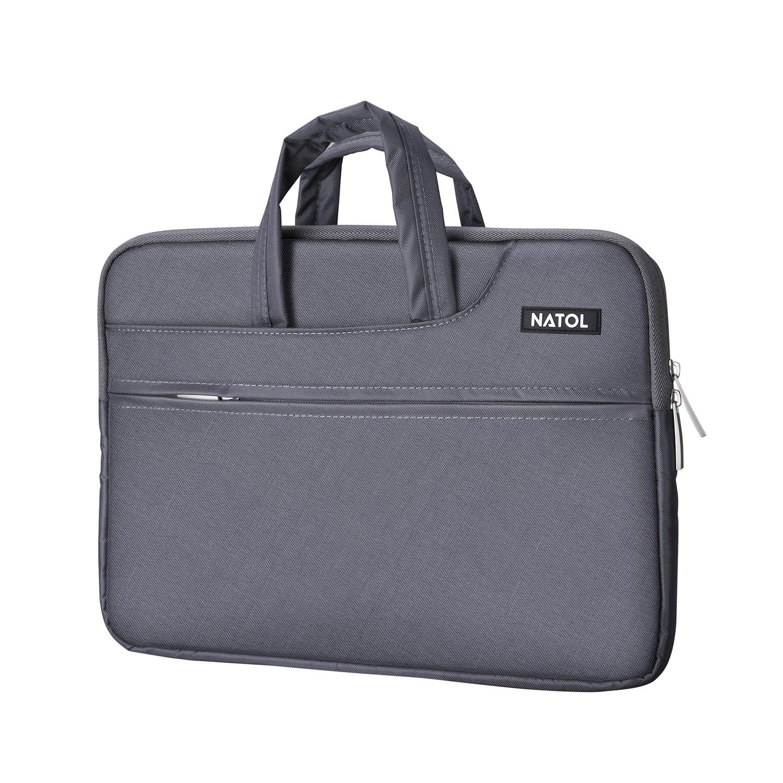 Laptop Sleeve NATOL, Funda Protectora para Portátiles, Maletín Ordenador Portátil de 13