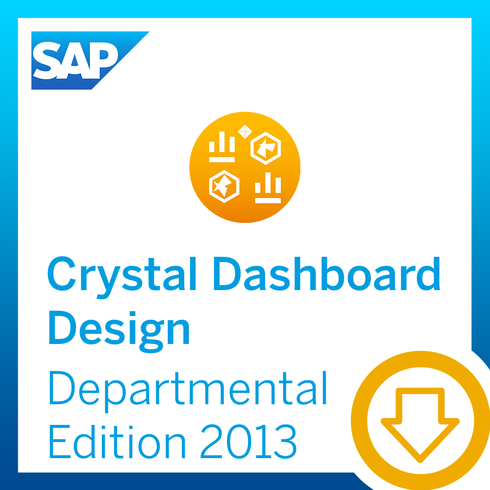 SAP Crystal Dashboard Design, departmental edition 2013 [Download] by SAP