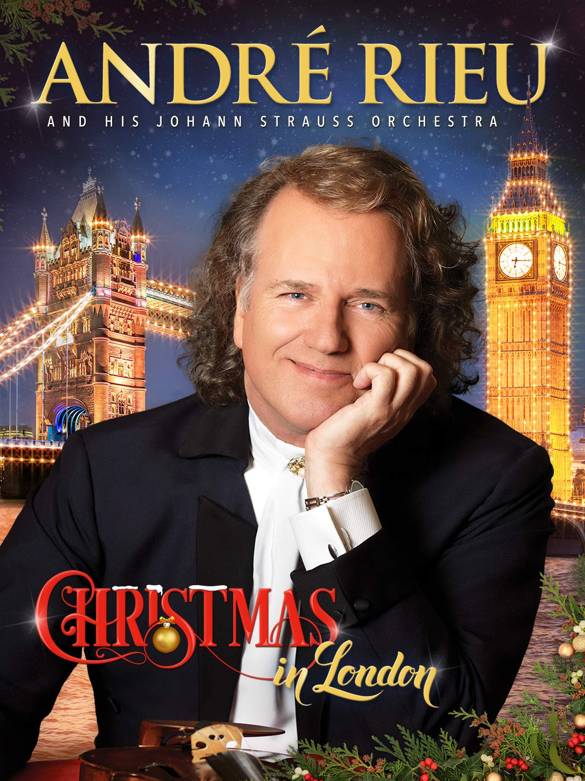 André Rieu And His Johann Strauss Orchestra - Christmas In London on Amazon Prime Instant Video UK