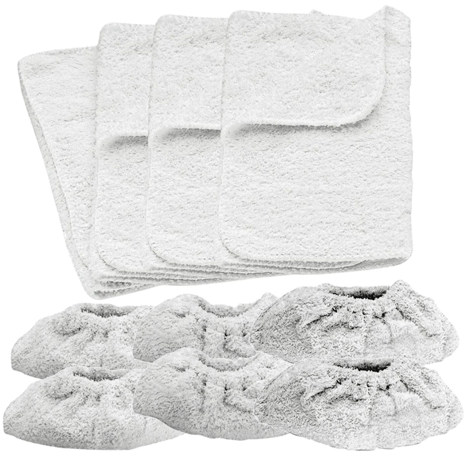 Spares2go Cotton Terry Cloth Covers & Pads for Karcher Steam Cleaner Hand Tool by Spares2go