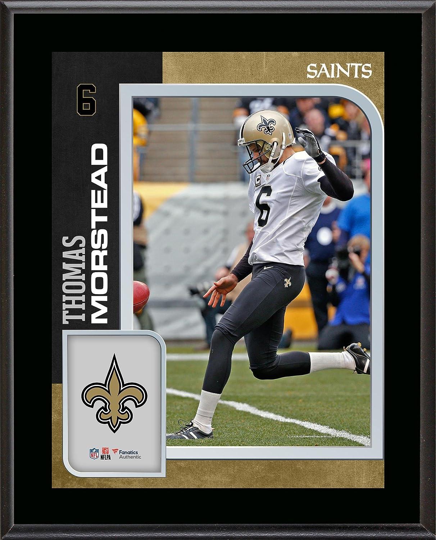 8029b0d1a3d Amazon.com  Thomas Morstead New Orleans Saints 10.5   x 13   Sublimated  Player Plaque - NFL Player Plaques and Collages  Sports Collectibles