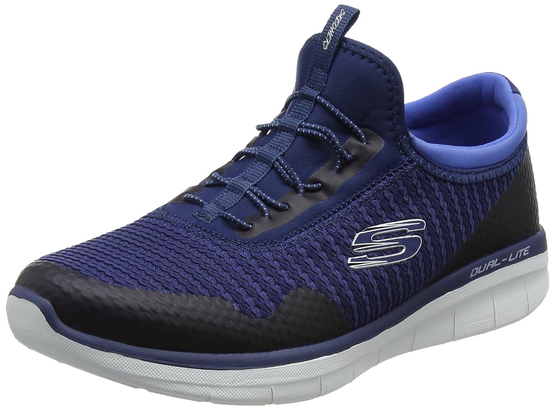 Skechers Synergy 2.0-Mirror Image, Entrenadores para Mujer 37.5 EU|Azul (Navy/Blue)