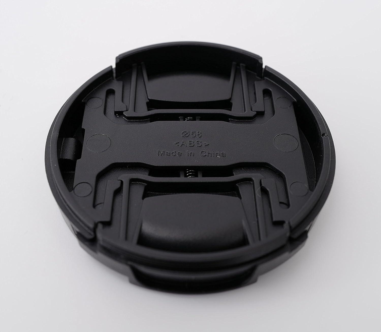 para Fujifilm Fujinon xf35/mm F1.4/R Ares fotogr/áfico /® Tapa de objetivo con Rast mecanismo interior y mango Di/ámetro 52/mm