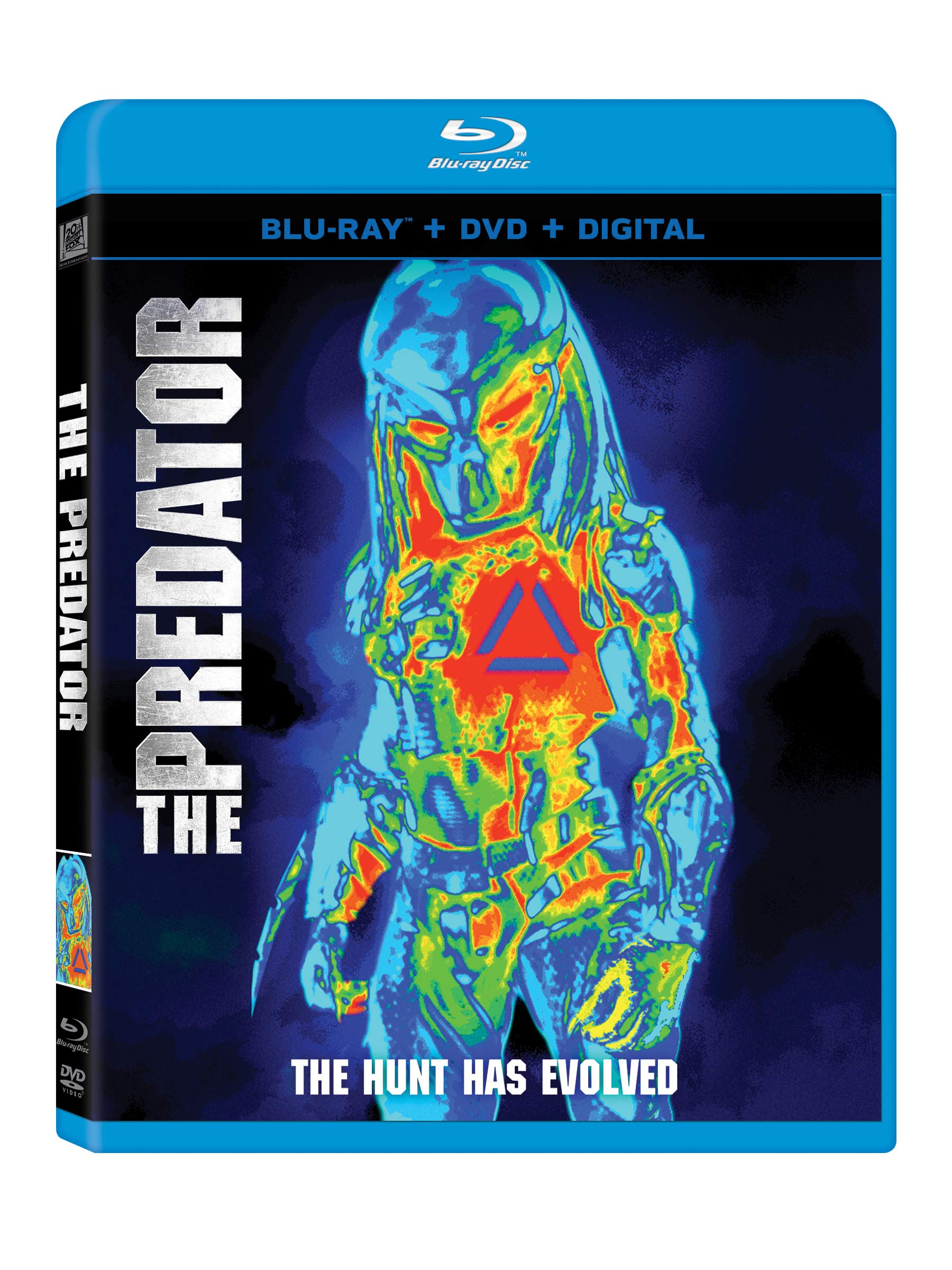 Blu-ray : The Predator (With DVD, Digital Copy, Dolby, Subtitled, Widescreen)