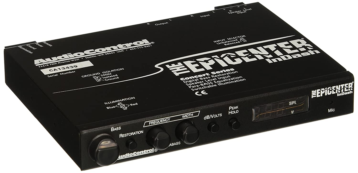 Audio Control Epicenterindash Bass Restoration Processor Baby Boomer 600w Dual 8quot Subwoofer Electronicswoot Car Electronics