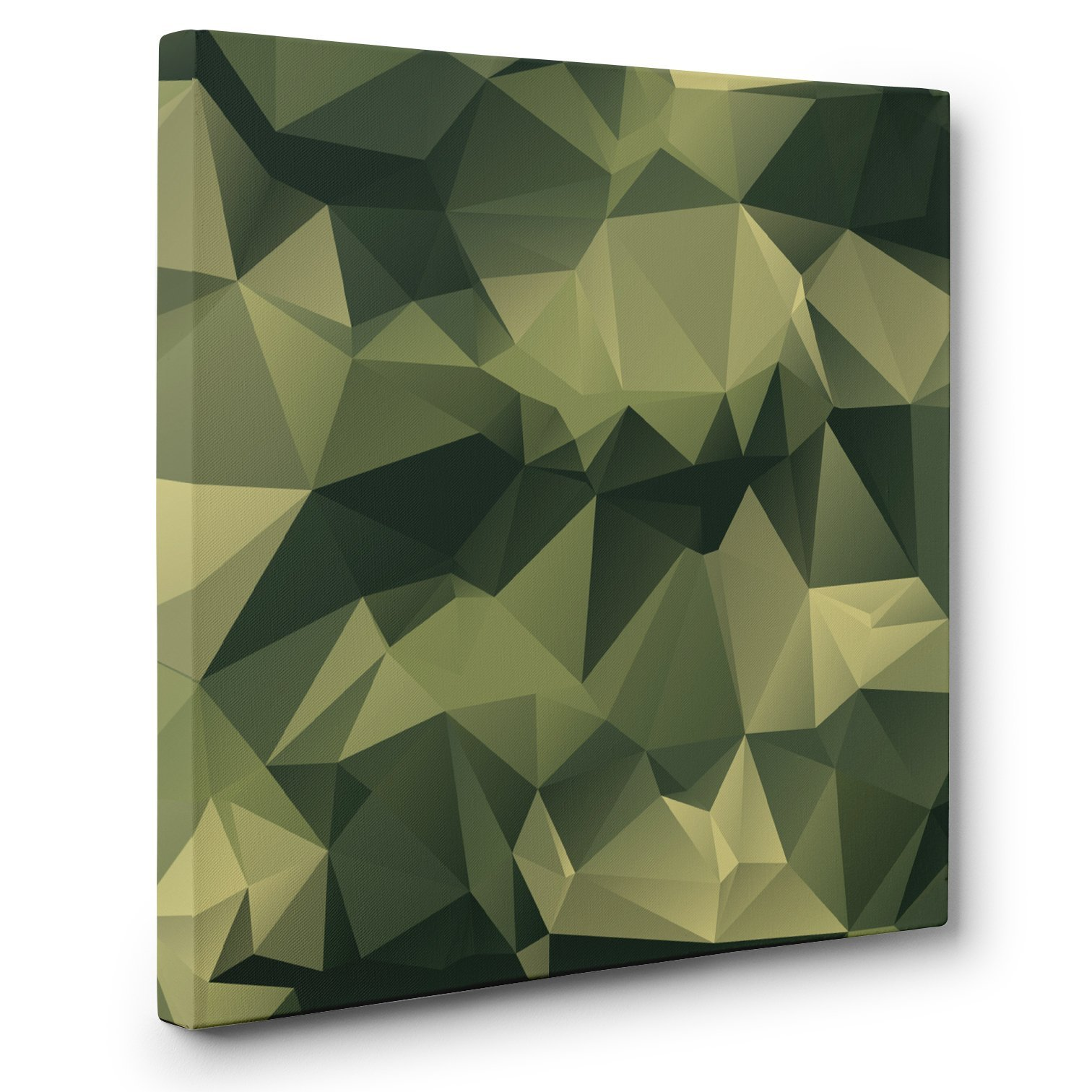 Abstract Camo CANVAS Wall Art Home Décor by Paper Blast